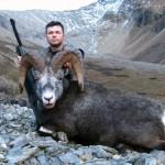 Охота на барана Стоуна в Британской Колумбии